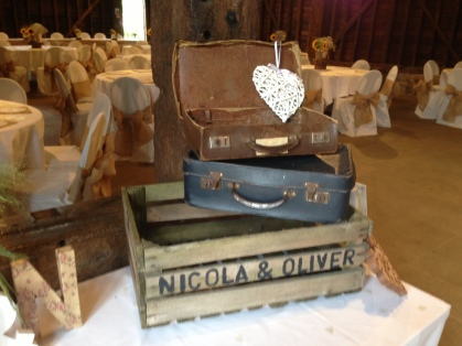 Vintage suitcases - £10.00 for two