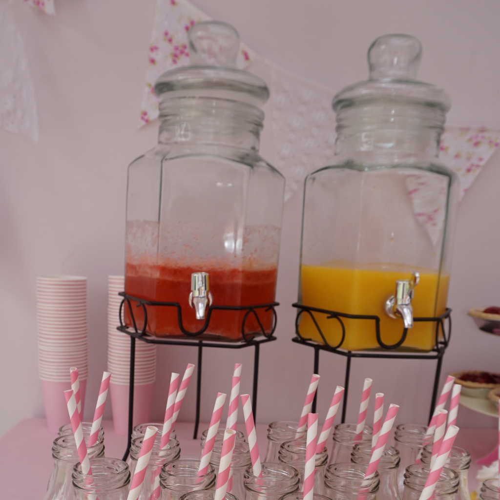 drinks dispenser and metal stand