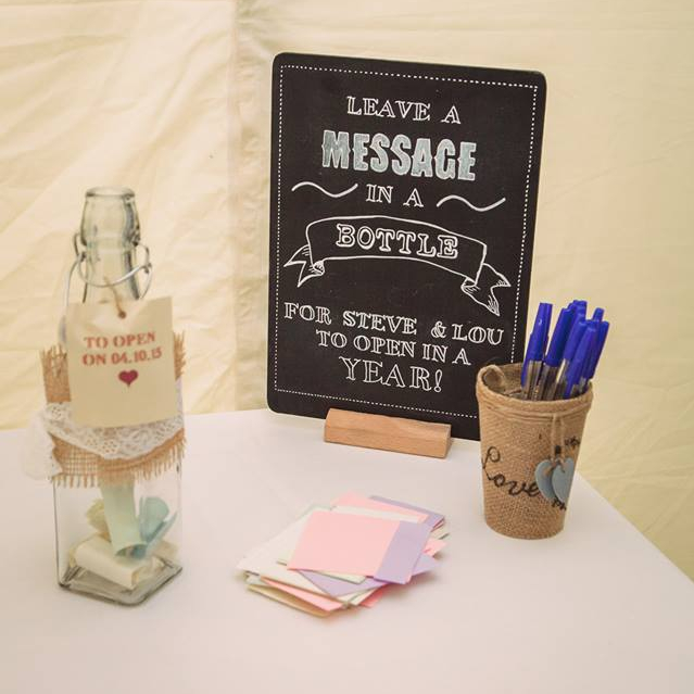Guestbook with a difference