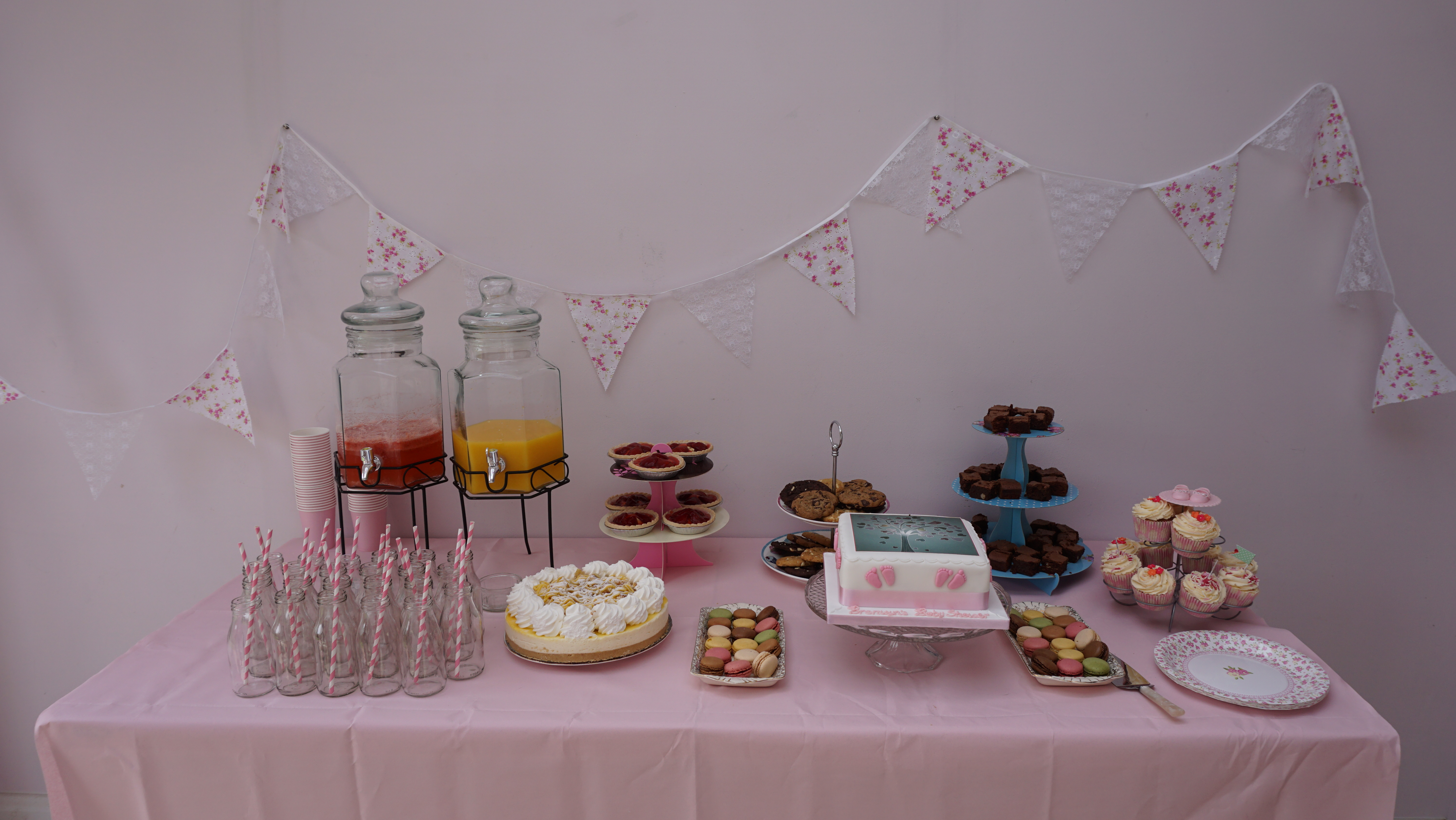 drinks dispenser and milk bottles available to hire great for weddings baby shower or event